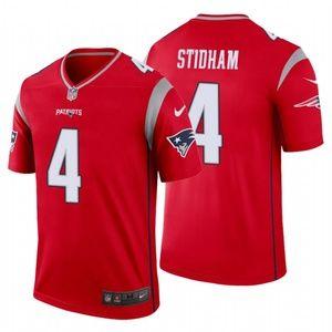 Men Jarrett Stidham #4 New England Patriots Jersey